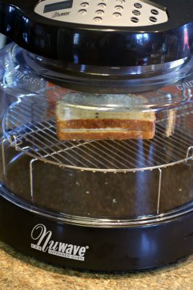 Perfectly Simple, Delicious Lunch: Grilled Cheese in the NuWave Oven @Hearthware