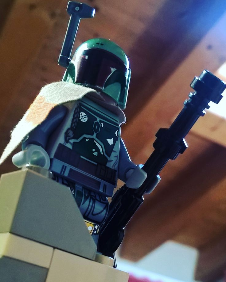 A Bounty hunter Boba Fett #Legostarwars