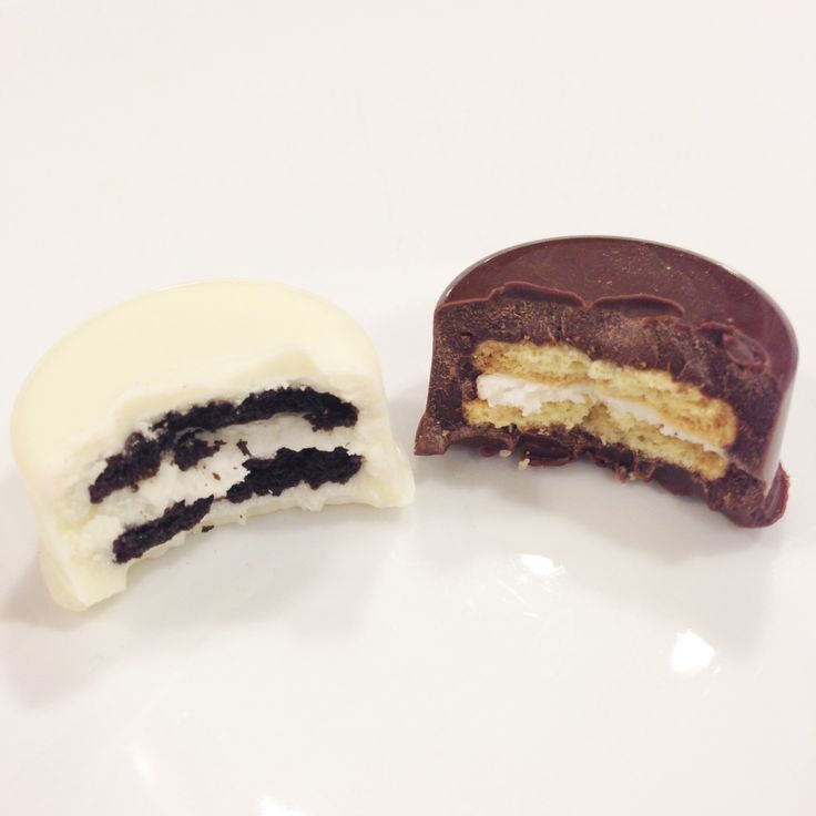 2/22/14 I finally buckled down and decided to make some chocolate covered Oreos. I kept seeing them everywhere and I loved the way they looked, especially the mini ones (because mini is cuter and t…