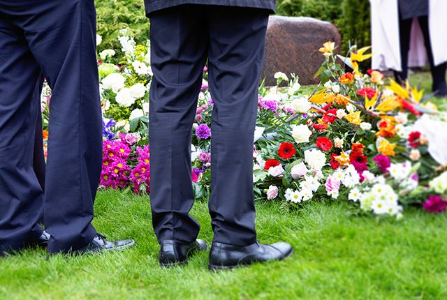 Funeral etiquette - Don't be afraid to laugh—or wear a color other than black.