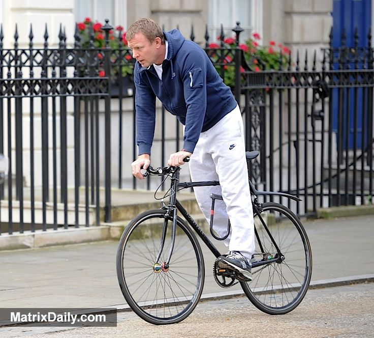 Celebrities Guy Ritchie enjoys solo cycle ride while son Rocco reunites with mum Madonna,  #bicycle #bike #celeb #celebrity #child #children #divorce #family #GuyRitchie #husband #kids #Madonna #partner #Rocco #tracksuit #wife