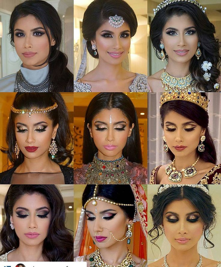 Repost from #@dressyourface her final bride of 2015 gave me the pleasure of creating 9 different bridal looks on her for her royal #AbuDhabi wedding #Soft smokey #cateye #smokey #ombre eyes pop of color cut crease #glitter eyes #Swarovski Crystal eyes cut crease and glitter 3D smoke! #makeup #motd #weddinginspiration