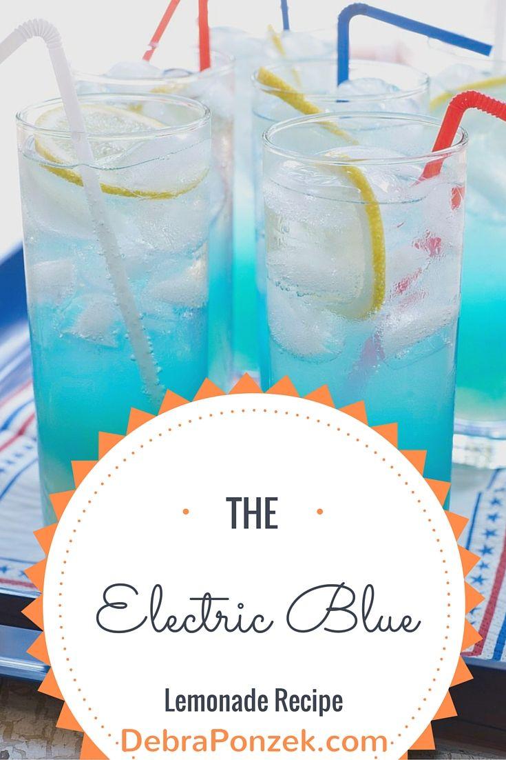 Electric Blue Lemonade Recipe