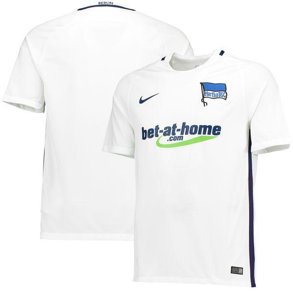 Hertha BSC Nike 2016/17 Away Jersey - White - $95.99