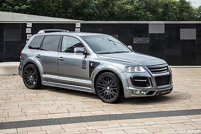 Volkswagen Touareg MK1 (VW) wide body kit | SR66 Suhorovsky Design