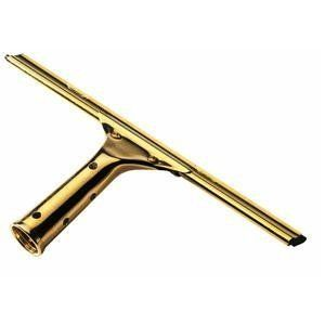 Ettore 10014 Solid Brass Window Squeegee by Ettore. Save 8 Off!. $14.99. The original squeegee with streak free guaranteed. professional quality. Replaceable, professional grade rubber blade. Rustproof brass. Refer to model No. 42004 (4'), 42008 (8'), 42012 (12''), and 42016 (16'') Rea c h extension pole for high reach use. Handle not included. Refer to model No. 20012 (12'') and 20018 (18) for replacement rubber blades. No. 10006: 6'' No. 10010: 10'' No. 10012: 12'' No. 10...