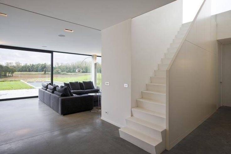 25 beste idee n over moderne woonkamers op pinterest moderne inrichting modern en witte sofa - Eigentijdse woonkamers ...