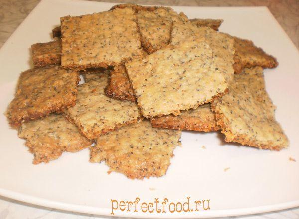 Веганское печенье с маком - фото-рецепт