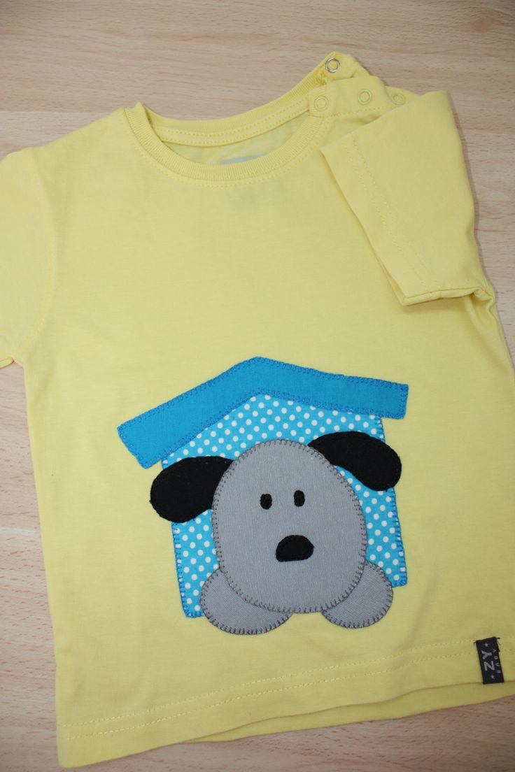 Camiseta patchwork niño