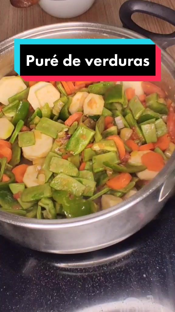 Comida Rápida Fácil(@comidarapida.facil) on TikTok: Puré de verduras 😁 #crzgf #recetasconsabor #aprendecontiktok