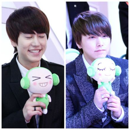 130109 cutee #KyuMin, i see no difference