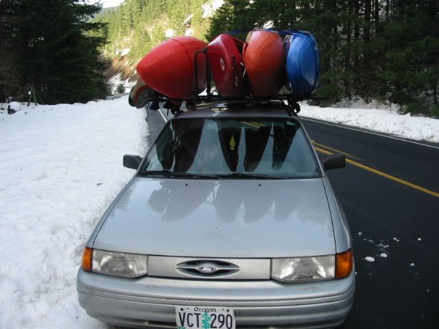 Kayak roof rack?? - Honda Element Owners Club Forum