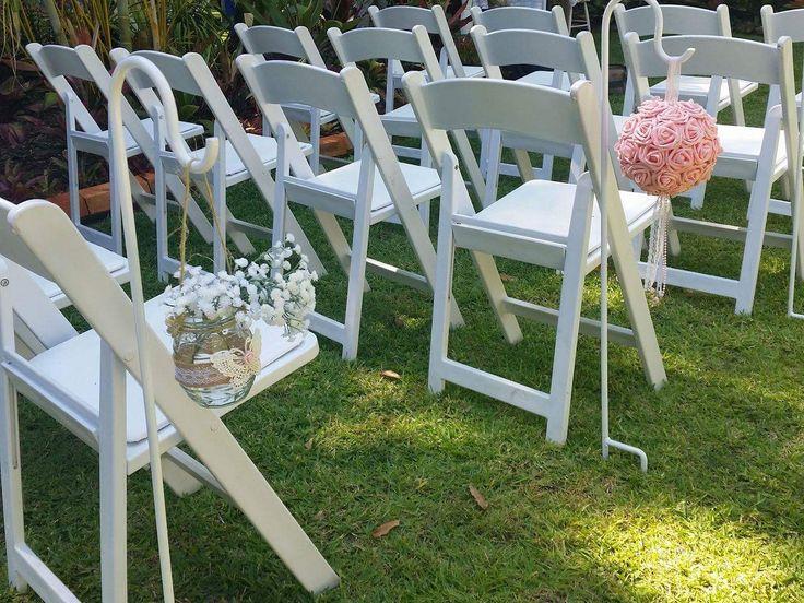 Vintage Shabby Chic Wedding - Aisle Shephards crooks
