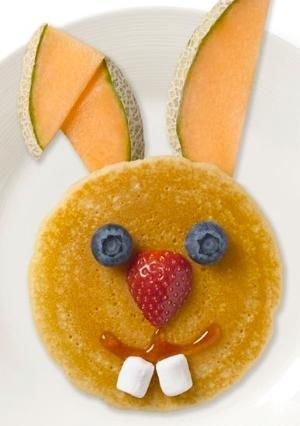 Easter Bunny pancake from Food for thought by valarie