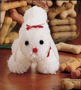 Pompom Poodle Dog Craft | Kid's Crafts | Fun Crafts | Dog Crafts — Country Woman Magazine