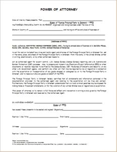 The  Best Power Of Attorney Form Ideas On   Power Of