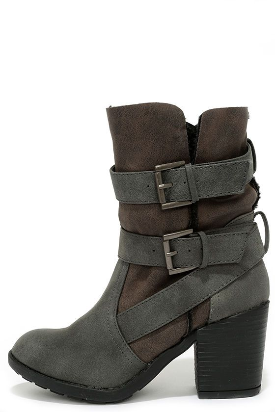 17 Best ideas about Fold Over Boots on Pinterest | Grey boots ...