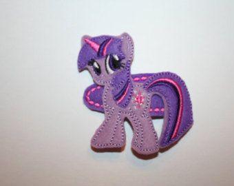 Twilight Sparkle MLP My Little Pony felt hair clip