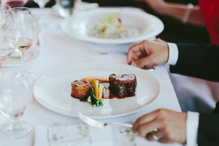 Slow Roasted Angus Beef Tenderloin | pomme duchesse, asparagus, seasonal vegetables, brandy jus
