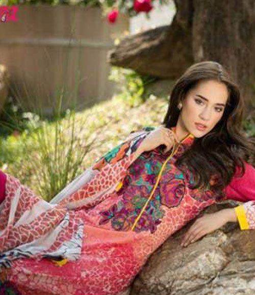 Ayesha Zara Embroidered Lawn Collection AZ_10A