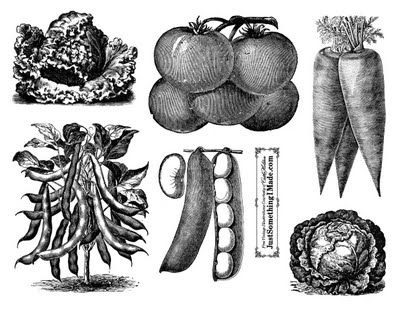 via Just Something I Made. Free digital downloads, free vintage clip-art, Iron-on transfer dark fabric, Tomatoes, Vegetables. Bookmark the permalink.