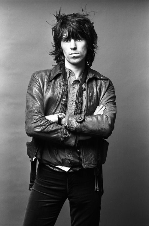 Keith Richards from Rolling Stones, photo by Norman Seef 1971  Then