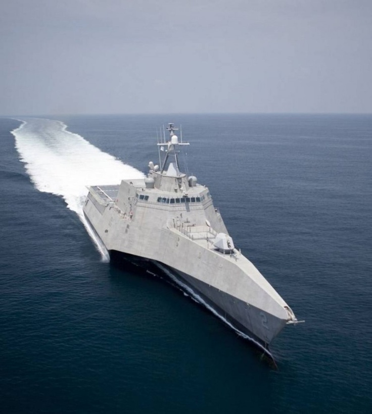 USS Independence LCS 2 Stealth Trimaran