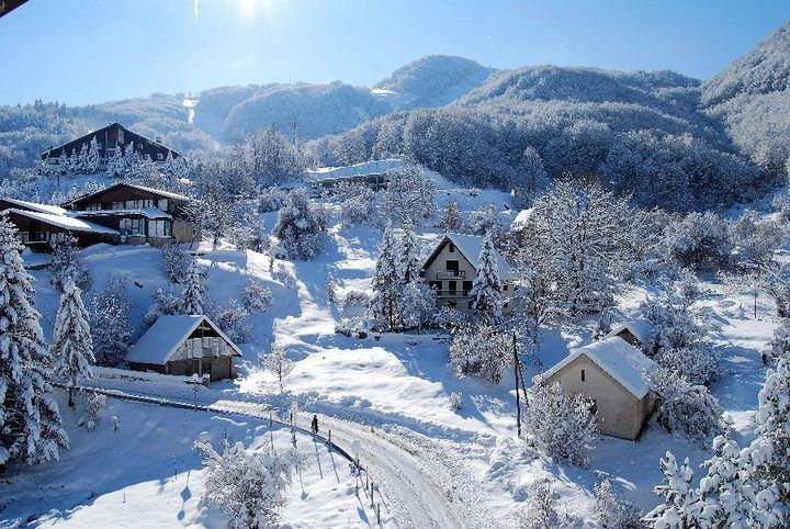 Ski Resort Mavrovo, Macedonia