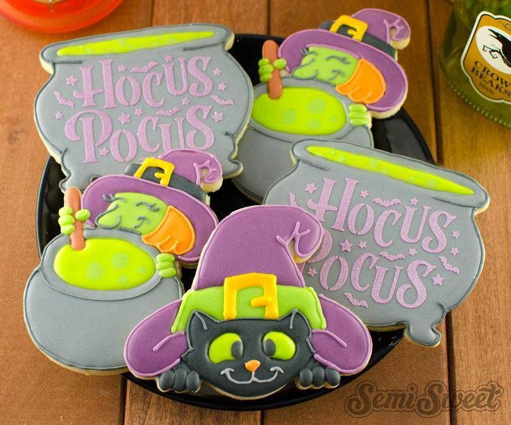 Hocus Pocus Cookie Cutter /& StampHalloween Spell October Witch Witches Fall