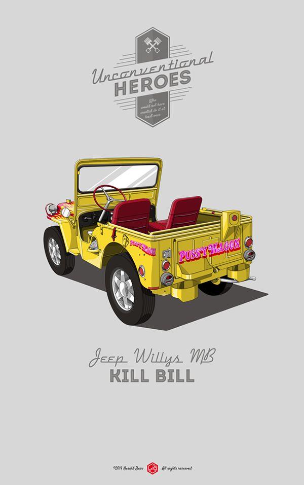 Unconventional Heroes Jeep Willys MB Kill Bill