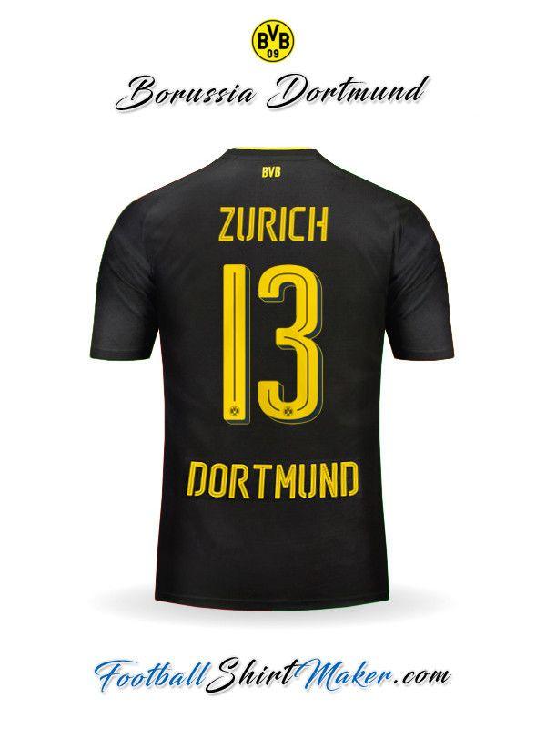 Camiseta Borussia Dortmund 2016/2017 Visita Zurich 13