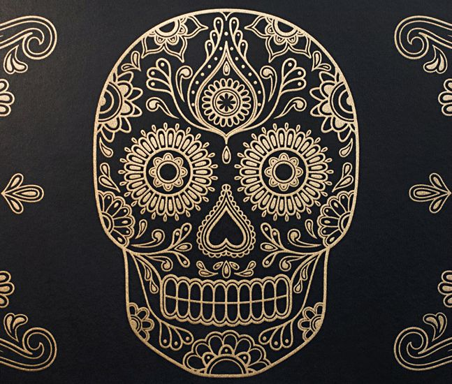 day of the dead sugar skull wallpaper skull wallpaper the o 39 jays and day of the dead. Black Bedroom Furniture Sets. Home Design Ideas