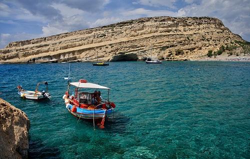 Matala, Crete Greece