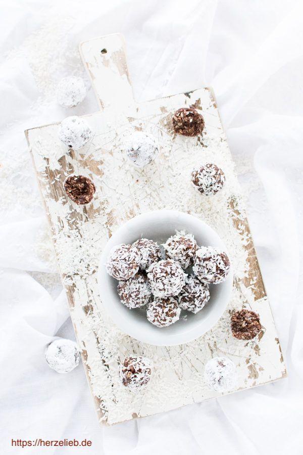 Dänische Weihnachtsrezepte - Havregrynskugler Rezept von herzelieb