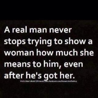A real man TRUTH FOUND HIM