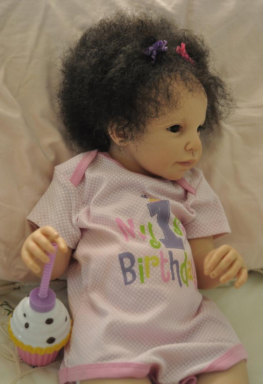 Reborn Adorable Light Skin Bi Racial Toddler Baby Girl Was