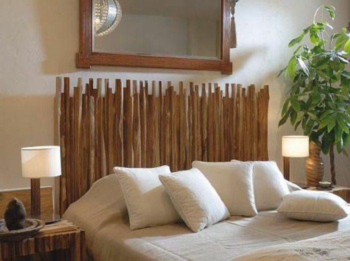 Tete De Lit En Bambou