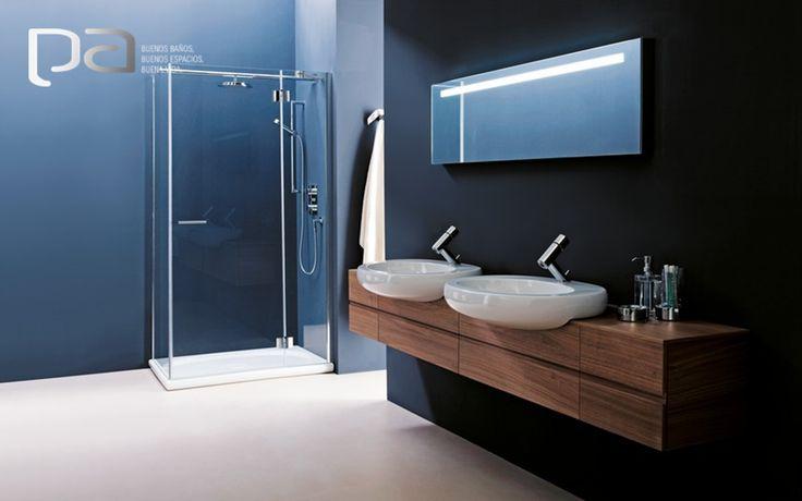 #BuenosBaños  La colección ILBAGNOALESSI ONE de Laufen ha logrado cautivar el mundo del diseño en el hogar. Figuras que no pasan de moda, imaginación y un poco de excentricidad se ven reflejadas en este baño.  Laufen exclusivo en productos Arquitectónicos
