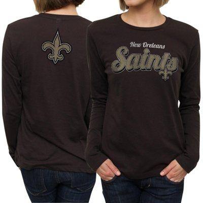 Fans Edge | New Orleans Saints Ladies Team Pride Long Sleeve - Black | $26