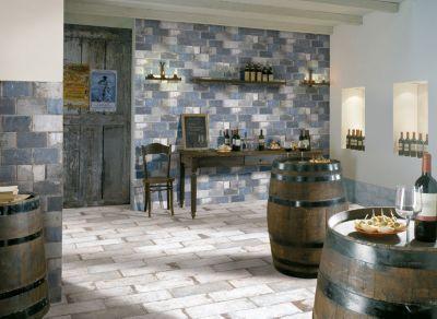 San juan azul porcelain tile 4in x 8in floor and for Floor decor reno