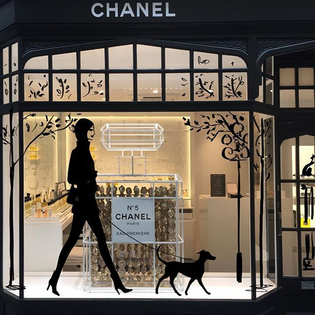 Jason Brooks - Chanel window design from my imagination