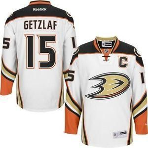 Ryan Getzlaf Anaheim Ducks # 15 White New Road Stitched NHL Jersey