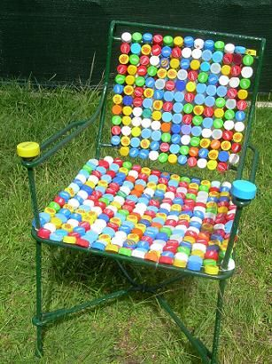 142 best recycled upcycled repurposed furniture images on pinterest recycling chairs and Furniture made from recycled plastic