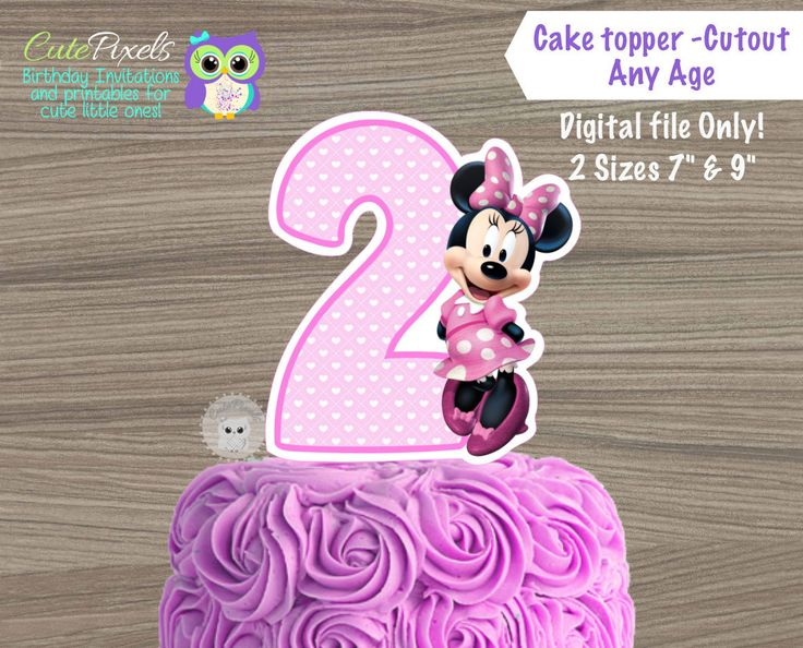 The 25 best Mickey mouse cake topper ideas on Pinterest Mickey