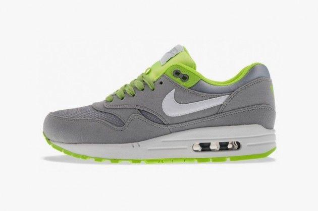 "Nike Air Max 1 Premium ""Venom"" Wolf Grey/Flash Lime"