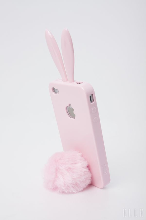 Fur Cover for Iphone 6 and Iphone 6s Plush case, rabbit - cute and fancy, adorable and new in fashion. I FREAKING NEED THIS