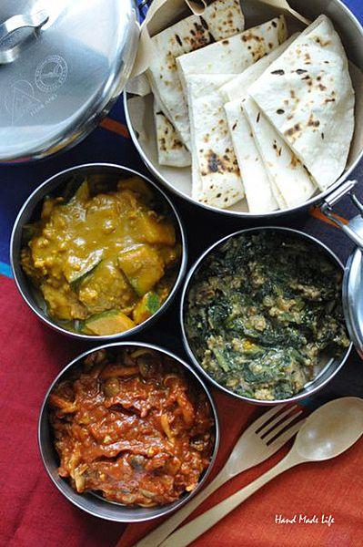 無発酵のインドのパン☆チャパティのレシピ21選|CAFY [カフィ] 3種のキーマカレー&チャパティ