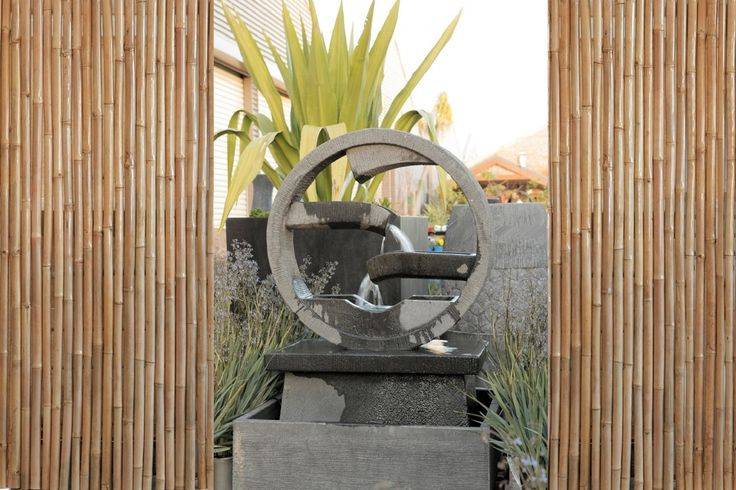 Water Wheel Water Feature. Concrete 900mm x 900mm x 1330mm. Our enormous on-site warehouse in Perth is continually stocked with water features, meaning you can find what you love and take it home today! Drovers inside and out.