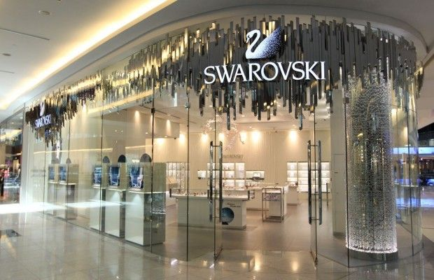 Swarovski partners with DFS on in-store styling