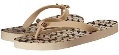 The Cafe Coupon: COACH Amel Flip-Flops - Only $19.99!